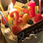 誕生日を迎えました…